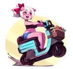 Emelie's Moped