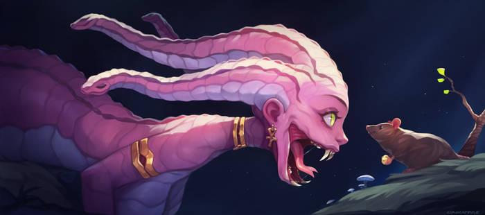 Medusa's Snack