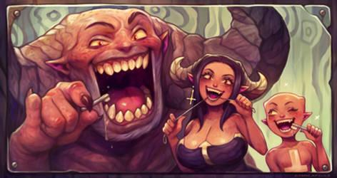 Brushing Devils