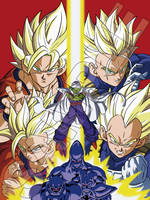 Dragon Ball Gaiden VJump Cover by Genkidbz