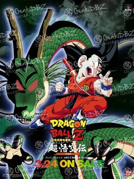 Poster DBZ Super Goku Den Totsugeki Hen Altern 3