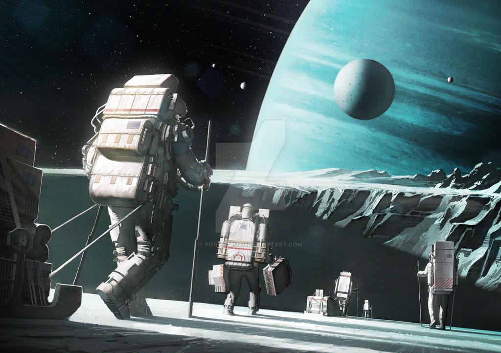 Space Pilgrims by PierreDroal