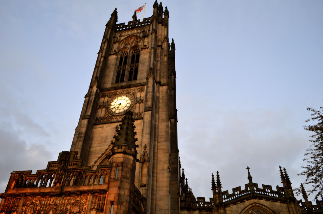Manchester`s Cathedral by Renan21