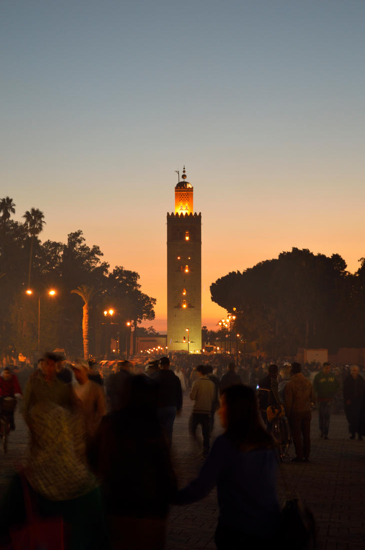Marrakesh is crazy and wonderful by Renan21