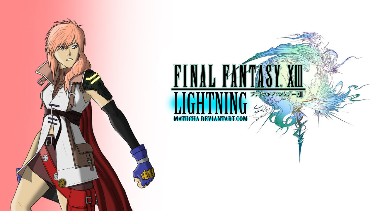 lightning ff13 wallpaper