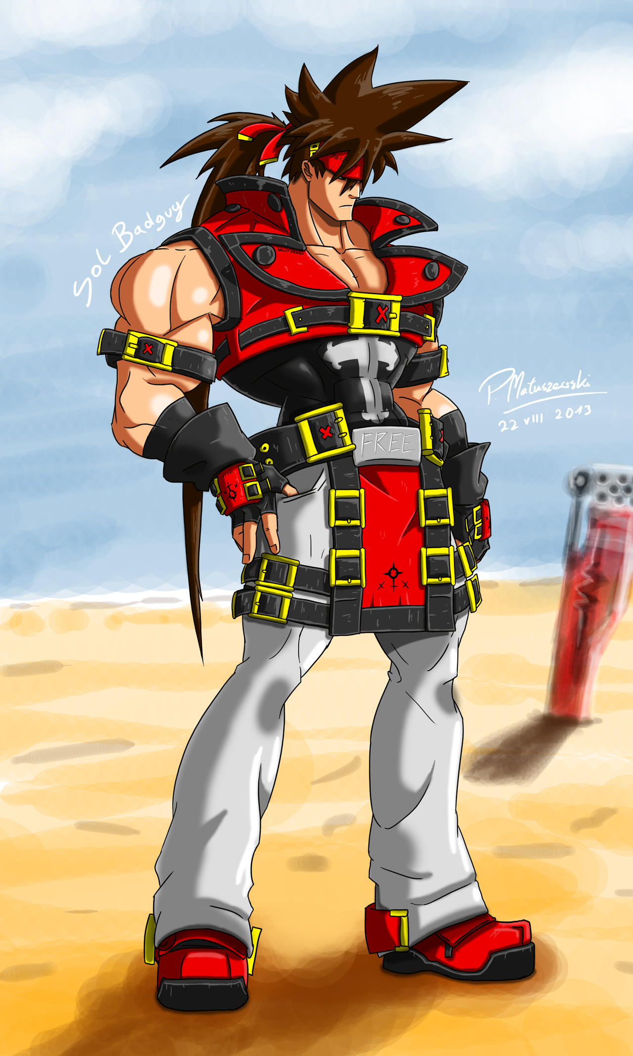 Sol Badguy Xrd! by Matucha