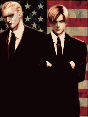 Leon and Krauser by YamiWesker