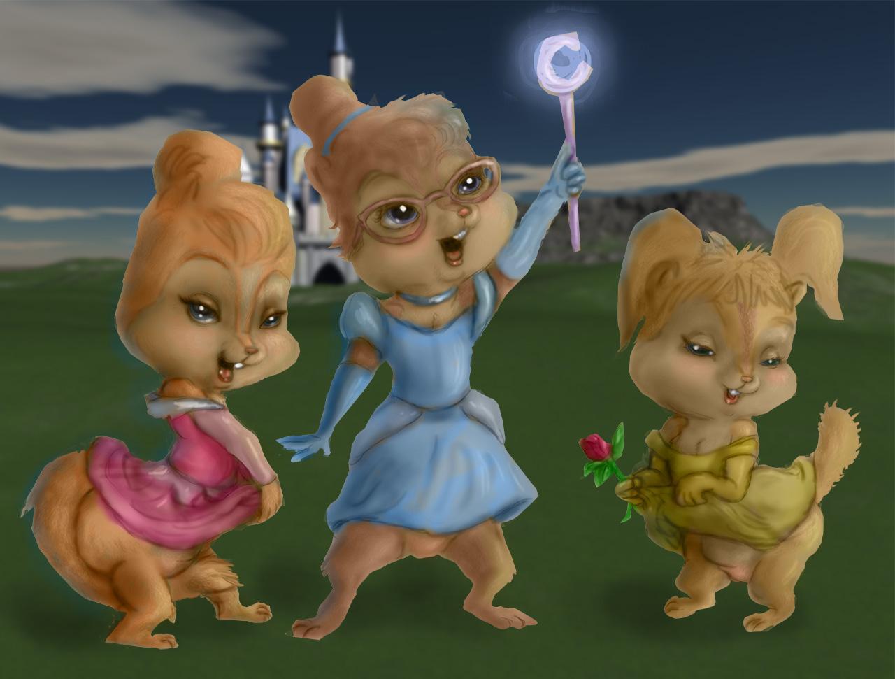 Chipette Princesses By ElFunnimal On DeviantArt