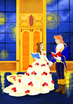 Disney Colouring Contest - Beauty and the Beast