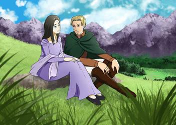The Royal Titan's Fury - Frieda and Eld