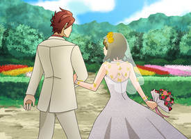 Umineko Wedding Commission by Book-Nose