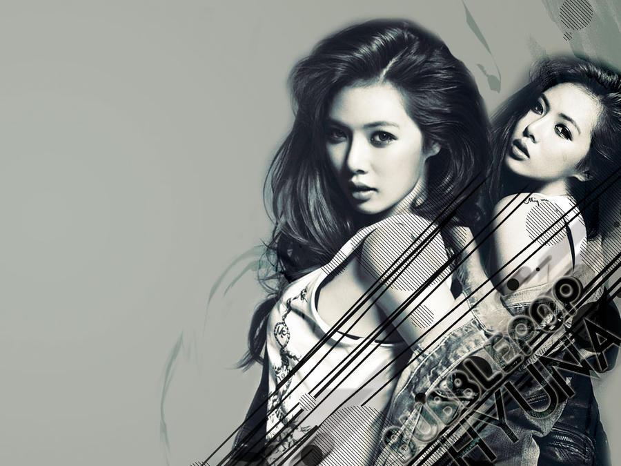Hyuna Bubblepop Wallpaper by Marik0 on DeviantArt  Hyuna Bubblepop...