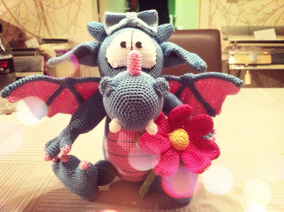 Dragon Amigurumi by Marik0 on DeviantArt