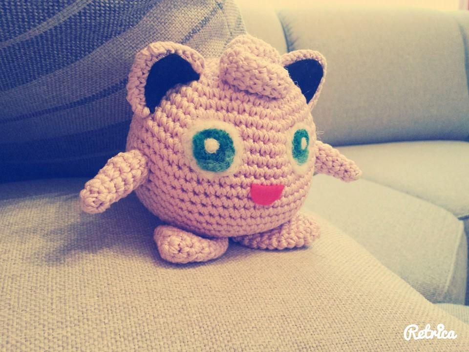 Jigglypuff Amigurumi Charm | Crochet Amino | 720x960