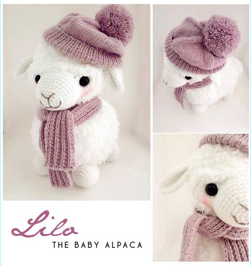 Lilo The Baby Alpaca Amigurumi Pattern