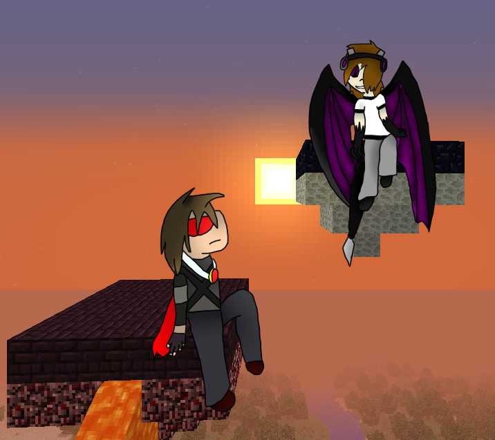 taunt evilskydoesminecraft s rq by thesaturnianwildcat