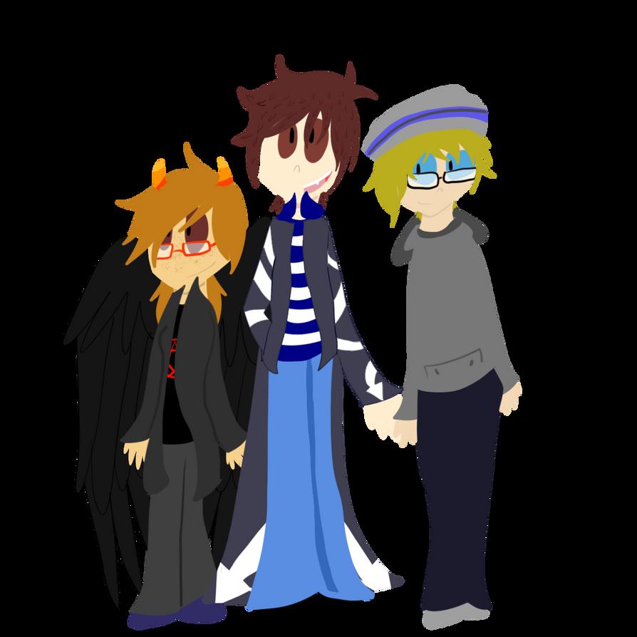 What A Trio by SSJWildcat
