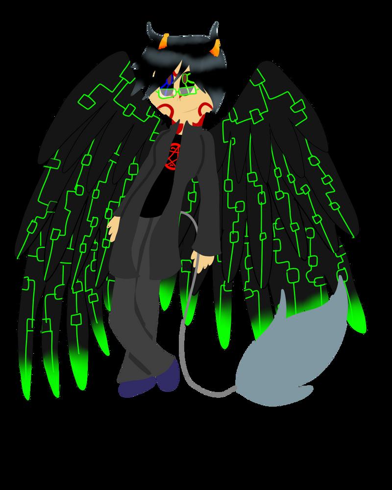 Concept Doodles: Cyberkinetic Angel by SSJWildcat