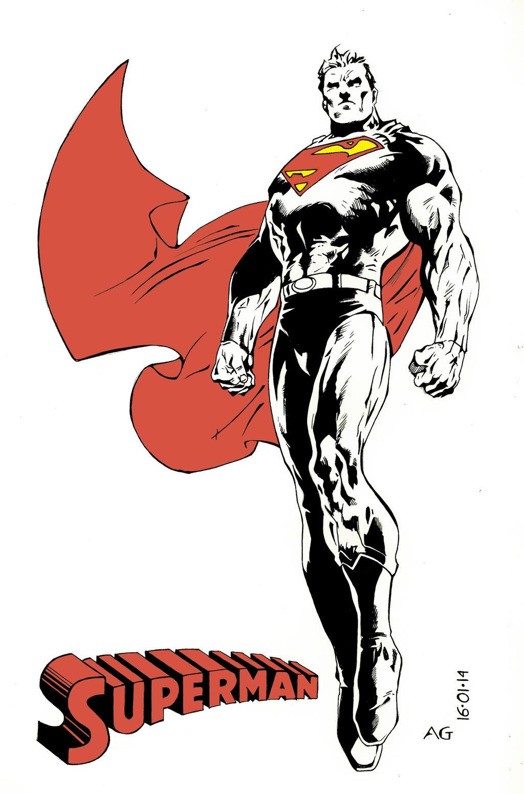 Superman by SketchB0000k