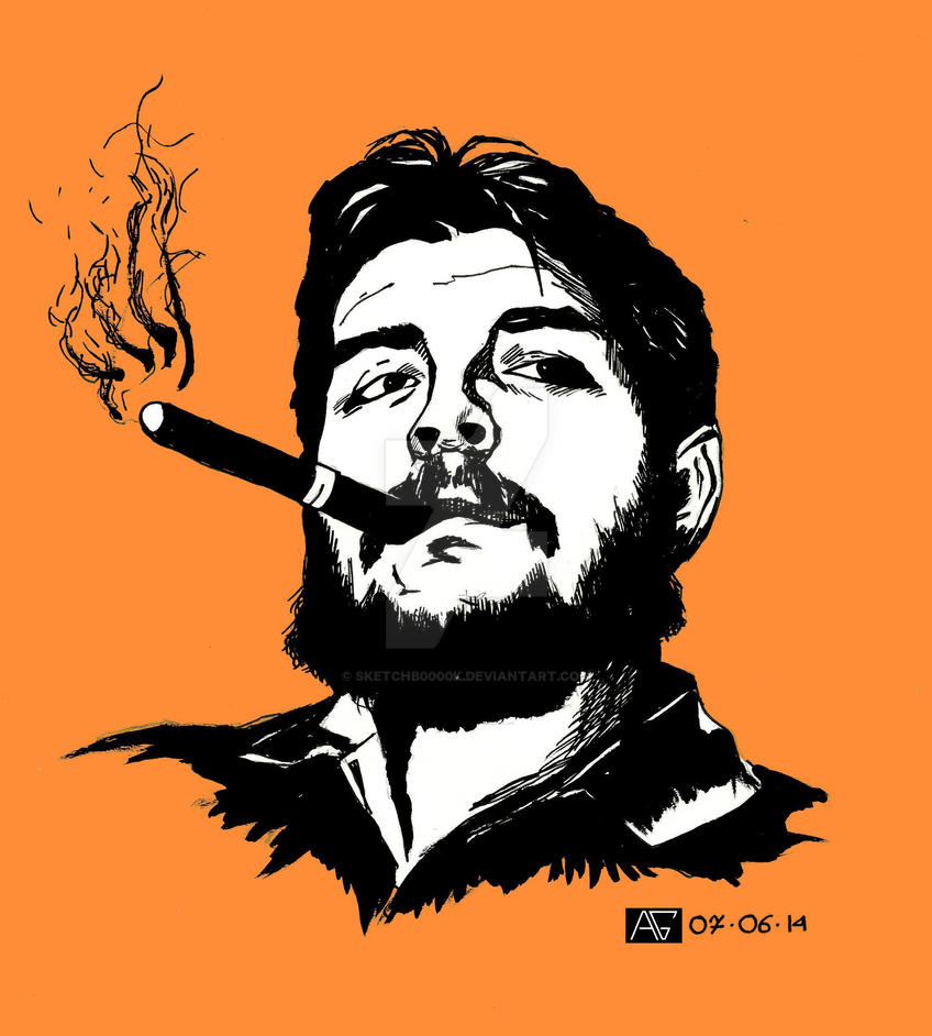 Ernesto Che Guevara By Sketchb0000k On Deviantart