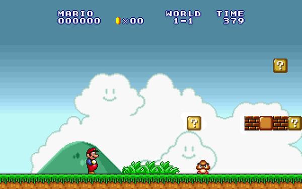 SNES Mario wallpaper