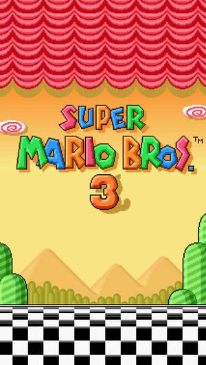 Super Mario Bros 3 iPhone 5 Wallpaper