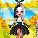 Kwanita the Vampire for Halloween girl by Mingbatrox108