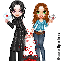 Lily and Severus for petiteantoinette by Mingbatrox108