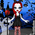 For the mini Halloween Contest .:Chikukko:. by Mingbatrox108