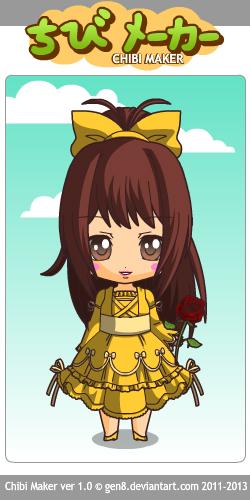 Yellow Belle~ Chibi by Mingbatrox108