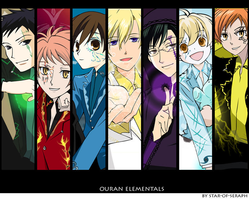 ouran wallpaper. Ouran Elementals wallpaper by