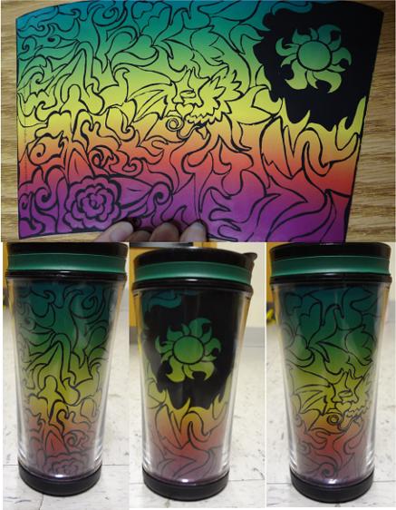 Rainbow Mug by eagle-elf