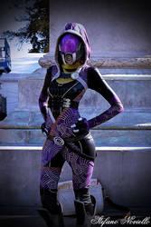 Tali'Zorah cosplay