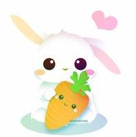 Cute Anime Bunny By IDidntWantToPutAName