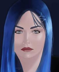 BLUE lady by raouf-mxs