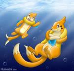 Buizel and Floatzel