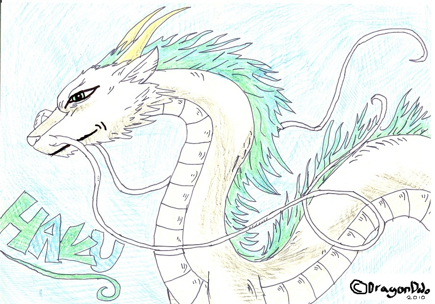 Haku The Dragon Full Body By Dragondodo On Deviantart