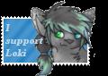 LokiiPokii stamp commission by DragonDodo
