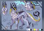 :CO: Droggo ref sheet by DragonDodo