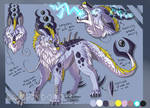 :CO: Droggo ref sheet by DragonDodo