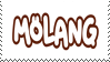 Molang stamp by Reinaasaur