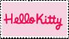 Hello Kitty Stamp by Reinaasaur