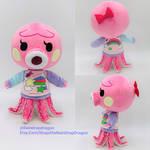 Marina, Animal Crossing New Horizons Plushie