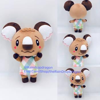 Melba, Animal Crossing New Horizons Plushie