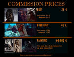 Commission info - COMMISSIONS CLOSED