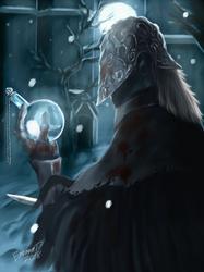 Bloodborne: Blood Hunter of Cainhurst by Memowlery