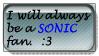 Sonic Always Fan Stamp by FourSonic