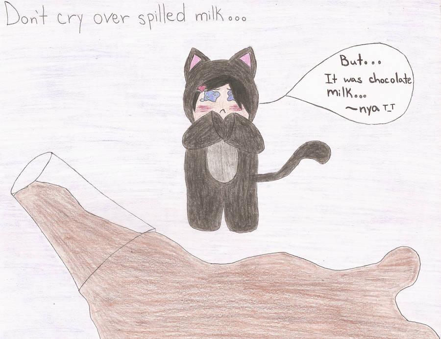 Spilled Milk by LunaTheNinjaKitty
