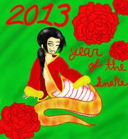 2013 Chinese New Year by LunaTheNinjaKitty