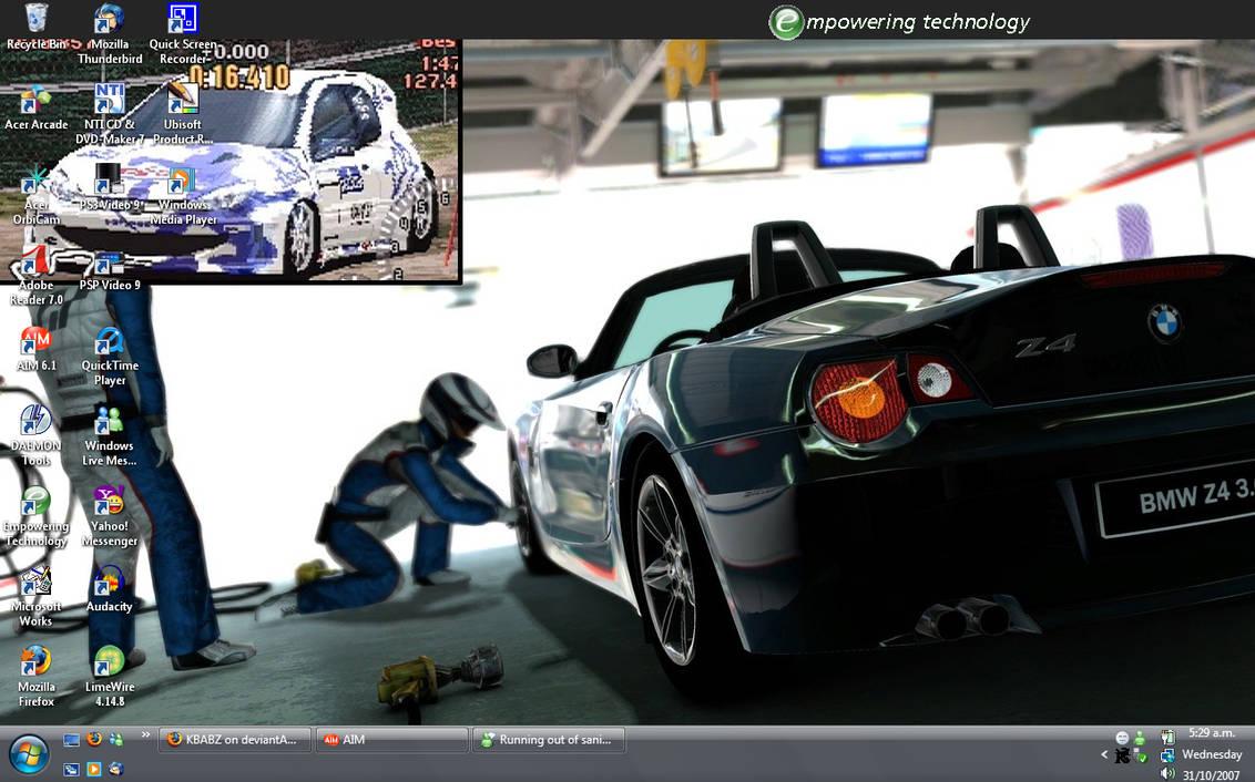 Dektop for the Crap Lap